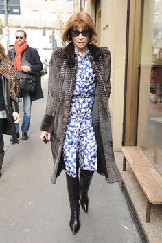 anna wintour fashion style - Google Search