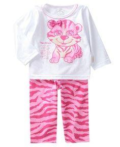 Pijama Malha Tigrinha