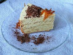 Бисквитный торт с карамельным кремом