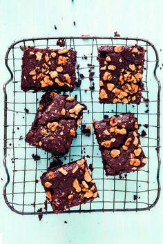 Schwarze Bohnen-Brownies