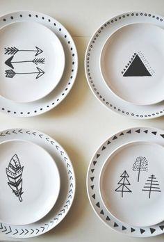 Porcelænsmaling – gør dit porcelæn personligt med en omgang maling - DIY