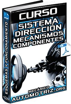 Descargar Curso Completo de Sistema de Dirección - Partes, Mecanismos, Estructura, Funciones, Esquemas, Componentes y Funcionamiento Gratis en Español y PDF.
