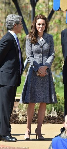 The Duchess Of Cambridge Opens Magic Garden and Attends Anna Freud Luncheon