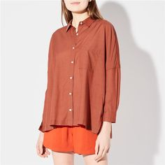 PACIFIC SHIRT RUSTIC BRICK | Steven Alan