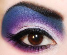 Pretty Ursula eye makeup