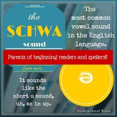 "Read this sentence. --- ""I need the address in order to address the package"" --- Did use the schwa vowel sound? Did you say ad-dress, a-dress, uh-dress or both? -- If children are reading and spelling for you, then you should know why they struggle with certain words. READ and SHARE with your friends. HomeschoolBabe.com"