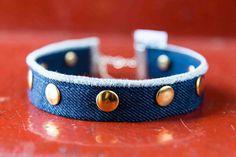 """Butterfly"" Choker.  Available online now!  #noknoklondon #choker #denim #womensfashion #jewellery"