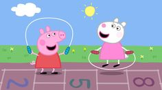 Peppa is thankful for her best friend Suzy Sheep this #Thanksgiving! Who is your little one thankful for?