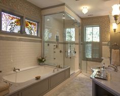 Glass Enclosed Shower Column Design, Pictures, Remodel, Decor and Ideas - page 9