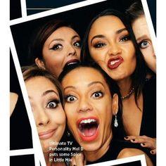 Little Mix & Mel B (Spice Girls)