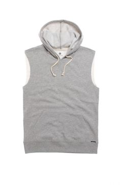 On The Byas Bill Cutoff Fleece Hoodie #pacsun