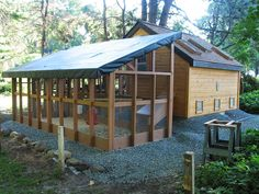 Cool Coops! ~ The Chick Compound   Community Chickens