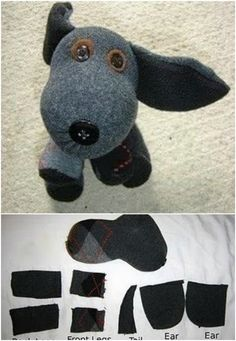 25 Hopelessly Adorable DIY Sock Toys {Quick and Easy Projects} - Page 2 of 2...                                                                                                                                                                                 More