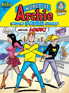 "Read ""World of Archie Comics Double Digest by Archie Superstars available from Rakuten Kobo. When Archie's emotional, bawling display at a romantic chick flick goes viral, Archie vows to prove his masculinity—no m. Archie Comics Characters, Archie Comic Books, Archie Comics Strips, Archie Comics Riverdale, Betty Boop, Archie And Betty, Betty & Veronica, Fire Book, Sabrina Spellman"