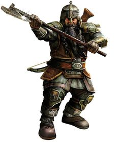 Dwarf warrior fighter