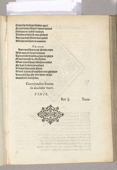 Anonymous | Blazoen van De Cauwoerde (Herentals), 1561, Anonymous, 1561 - 1562 | Blazoen van De Cauwoerde, rederijkerskamer te Herentals. Voor het Landjuweel van Antwerpen in 1561.