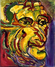 $22.41 · Painting, Oil  by Daniela Isache (Romania). Prints available from $22.41 via #Artmajeur.  #Painting #Oil #Figurative #Portraits #Expressionism #Portrait #Man #Wrinkles Mask Painting, Woman Painting, Expressionist Portraits, Expressionism, Canvas Frame, Oil On Canvas, Beyond Paint, Composition Painting, Original Art