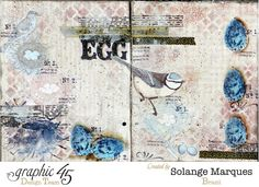 Solange Marques: G45 Art Journal