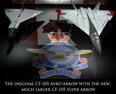 CF-XX Super Arrow_what should've been but for weak politicians