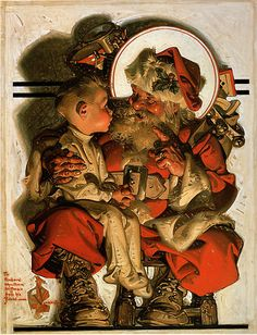 J.C. Leyendecker : Check out their shoes !! Fun idea for OOAK characters.....