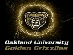 Victory Tailgate Oakland University Golden Grizzlies Die-Cut Vinyl Decal