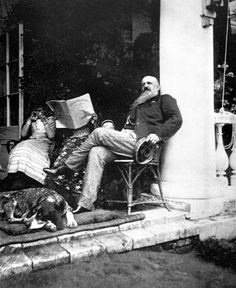 Russian landowner at his estate, 1890. -- possibility for the professor or the doctor; i like the beard especially