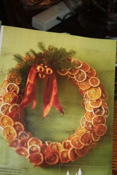dried Orange Wreath