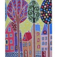 Trees & houses
