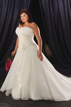 plus size-wedding dress | Plus size wedding dresses