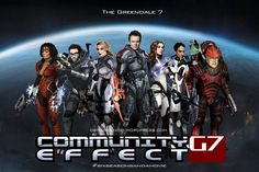Mass Effect Community Mashup Fan Art by ~rs2studios