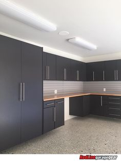 RedLine Garagegear manufactures the finest custom garage cabinets in the industry. From our durable powder-coated finish Garage House, Garage Closet, Garage Laundry, Garage Gym, Garage Plans, Laundry Room, Diy Garage Storage Cabinets, Garage Shelving, Garage Wall Cabinets