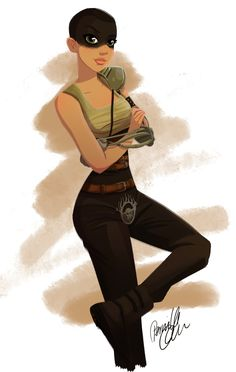 Part of my -way too late- fanart of Furiosa for Sketchdailies. #mad #max