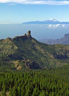 Roque Nublo & Teide, Gran Canaria, Spain http://www.travelandtransitions.com/destinations/destination-advice/europe/outdoor-adventure-gran-canaria/