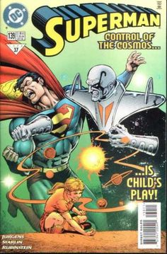 Jurgens - Child - Issue 139 - Dc Comics - Control Of The Cosmos - Dan Jurgens