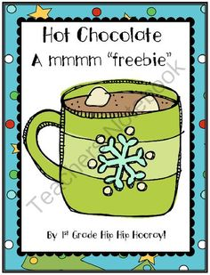 nothing is more fun than a cup of hot chocolate on a winter night. This packet fits perfectly with the Polar Express and allows kiddos to e. Procedural Writing, Teaching Writing, Teaching Ideas, Classroom Activities, Winter Activities, Classroom Ideas, Head Start Classroom, Hot Chocolate Party, First Grade