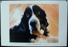 $19.99  DOG Pets ART Print Springer BY Robert Mcclintock | eBay #dog #pets #walldecor