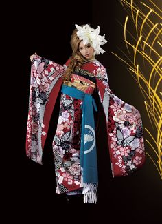 Many women wear Furisode to coming-of-age ceremonies.