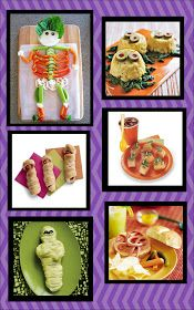 It's Written on the Wall: Enough Sweets? We're sharing Dinner Recipes for Halloween now!