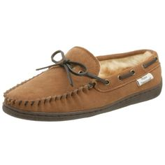 6% Off was $49.95, now is $46.95! Tamarac by Slippers International Men's Shearling Suede Moccasin