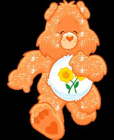 glitter clip art care bears | Care Bears