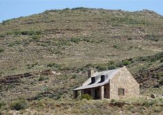 Fossil Hills McGregor Western Cape South Africa / cozy stone cottage with huge fireplace. Plenty of farm tracks for easy mountain biking Stone Farms, Ranch Farm, Natural Spring Water, Lavender Cottage, Farm Cottage, Holiday Accommodation, Cabins And Cottages, Fossil, South Africa