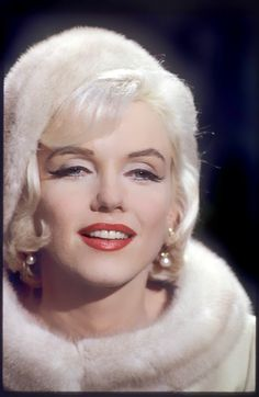 Marilyn Monroe as Ellen Wagstaff Arden in Something's Got To Give, 1962.