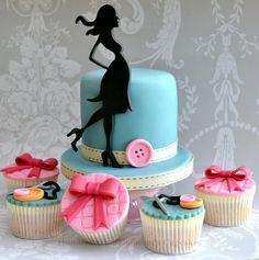 Fashionista Cake - by Hundreds and Thousands Cupcakes @ CakesDecor.com - cake decorating website
