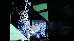 'Into The Woods' is the first chapter in artist duo Stylus' newest projection mural escapades. Creators Project, Stylus, Woodland, The Creator, English, Live, Artist, Projects, Log Projects