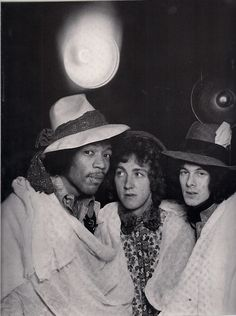 The Jimi Hendrix Experience (formed in London in October 1966).