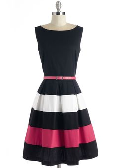 Lo and Be Bold Dress. Bear witness to the brilliance that is this black dress! #black #modcloth Love this! Classic & fun!