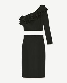 Image 11 of TOP AND SKIRT SET from Zara