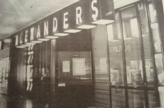 the entrance to the old alexanders department store in kings plaza.