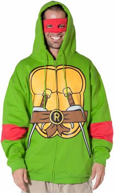 With the Teenage Mutant Ninja Turtles hoodies you can fight crime in convincing fashion. These TMNT Hoodies come in all of the Ninja Turtle styles Ninja Turtle Crafts, Ninja Turtles, Cool Tees, Cool T Shirts, Turtle Costumes, Halloween Costumes, Cartoon Outfits, Best Tank Tops, T Shirt Costumes