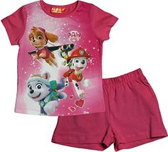 Paw Patrol Girls Calling all Pups T Shirt and Shorts Pyja... https://www.amazon.co.uk/dp/B01DELXBL6/ref=cm_sw_r_pi_dp_agzrxb60ZPCJR